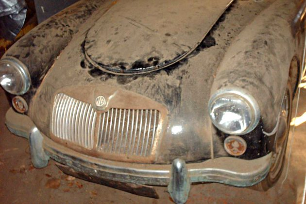 Dusty But Solid: 1961 MG MGA 1600 Roadster