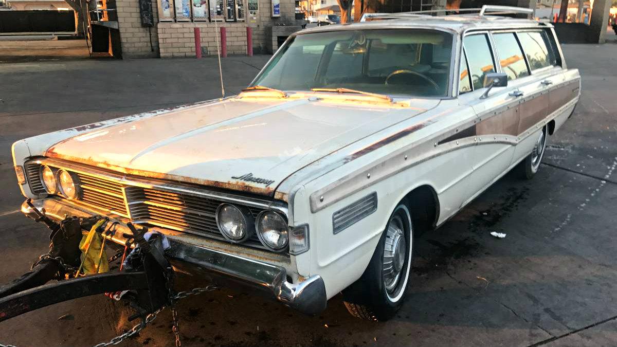 Car Auction Usa >> 428 Big Block: 1966 Mercury Colony Park Wagon