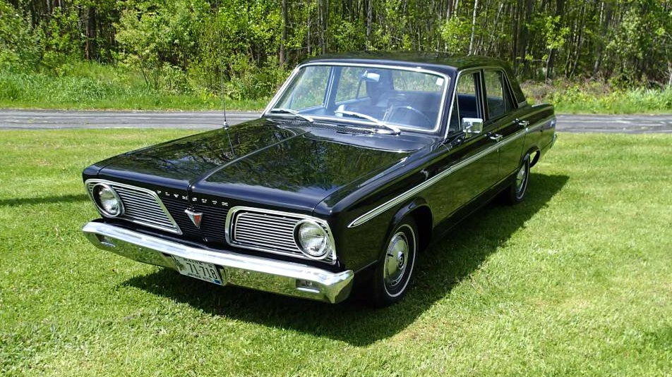 9 300 miles of perfection  1966 plymouth valiant