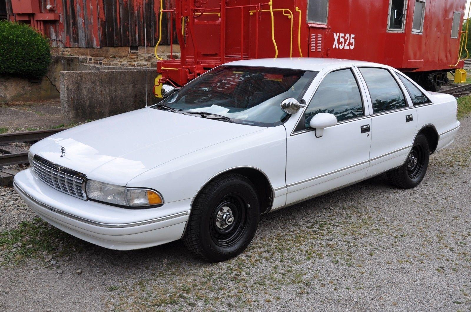 Police Caprice: 14,000 Mile 1994 Chevrolet Caprice 9C1