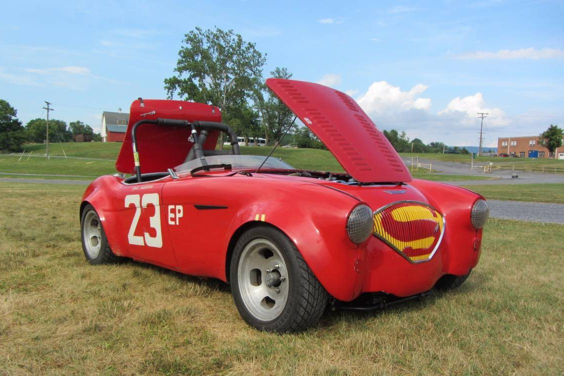 Bill Of Sale Form For Car >> Racing And Family History: 1955 Austin-Healey 100/4