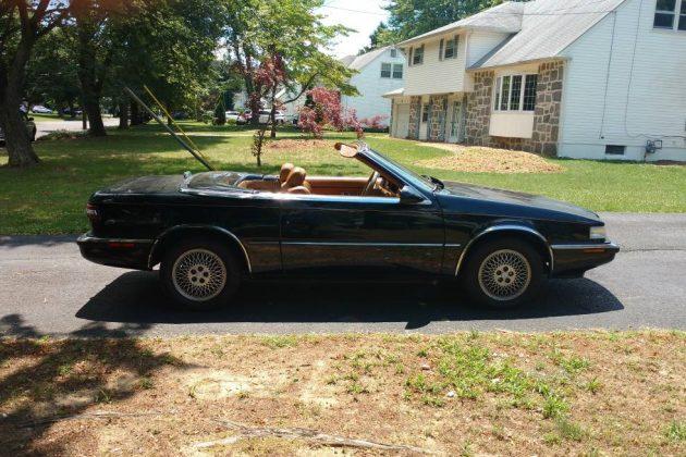 Awkward First Date: 1991 Chrysler TC by Maserati