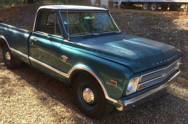Thanks To Rocco B Who Spotted This 1967 Chevrolet C 20 Pickup Truck That Accumulated Most Of Its Unlisted Miles Under The Sellers Grandfathers Cab Over
