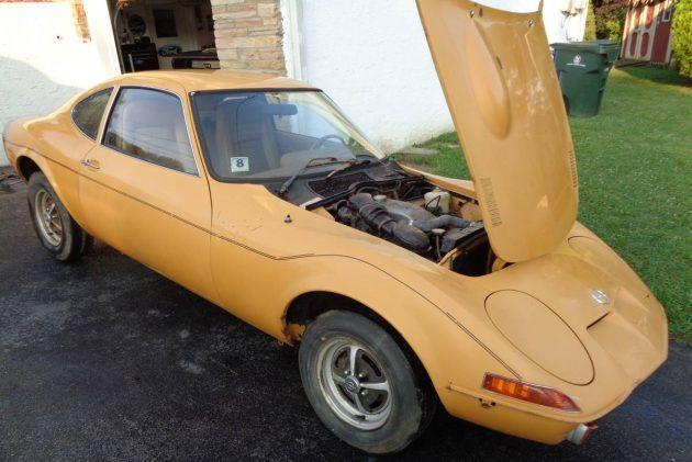 Put a Bow on It: 1973 Opel GT