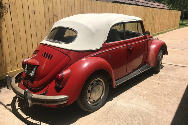 Super With Lowercase S: 1969 VW Beetle Convertible