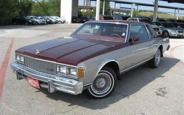 Chevy Impala For Sale >> Crisp Caprice: 4,600 Mile 1979 Chevrolet Caprice