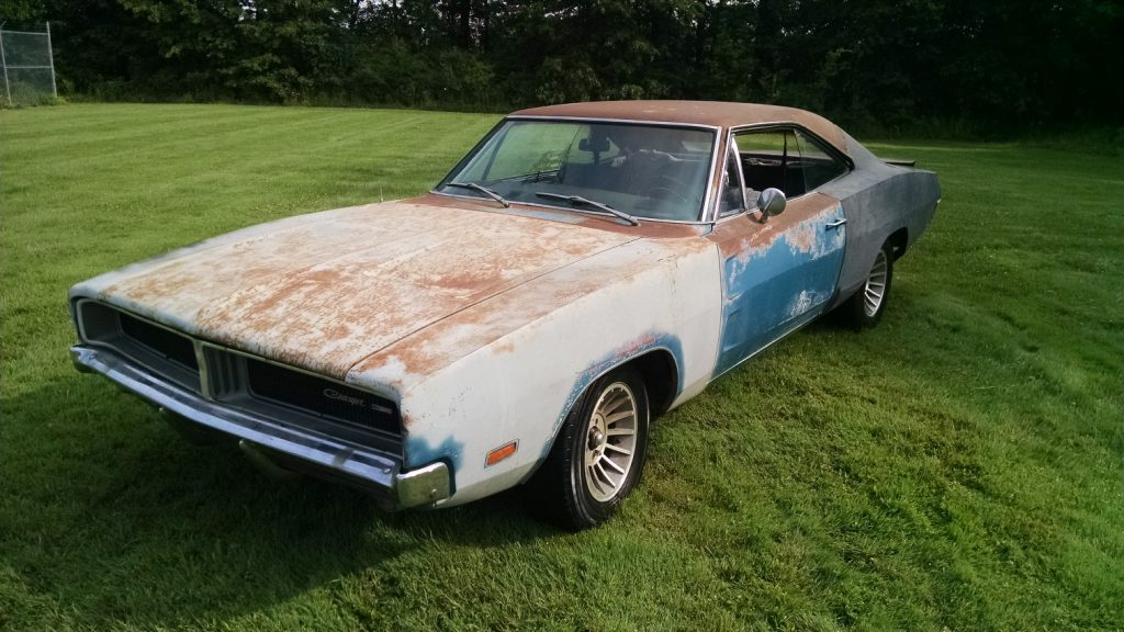 Charger In The Rough: 1969 Dodge Charger Project