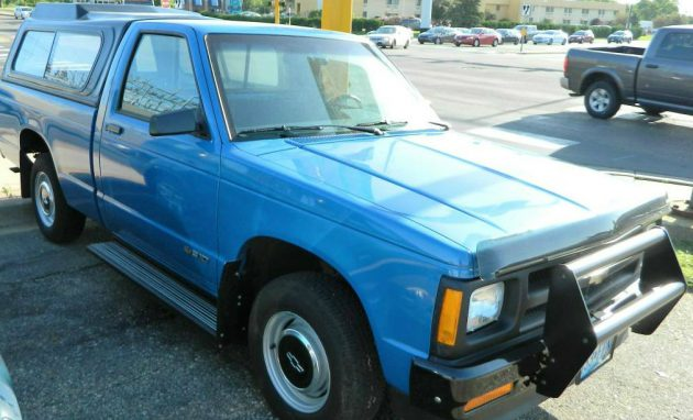 Untouched Workhorse: 2,800 Mile Chevy S10