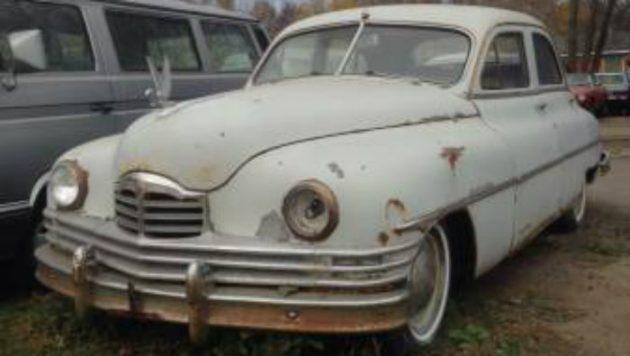 Sunset Boulevard: 1950 Packard Deluxe Eight Sedan