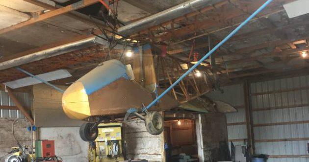 Hanging Around Home Built Aircraft