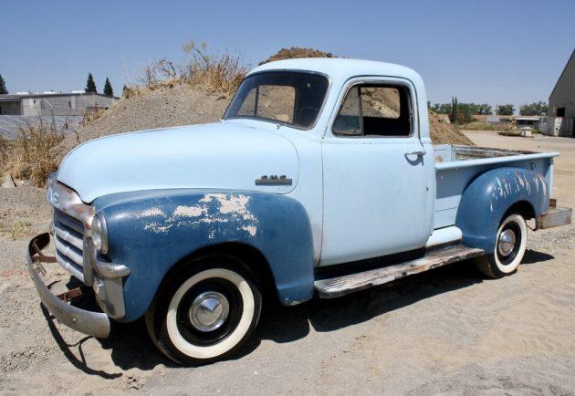 Desert Driver: Original 1954 GMC Pickup