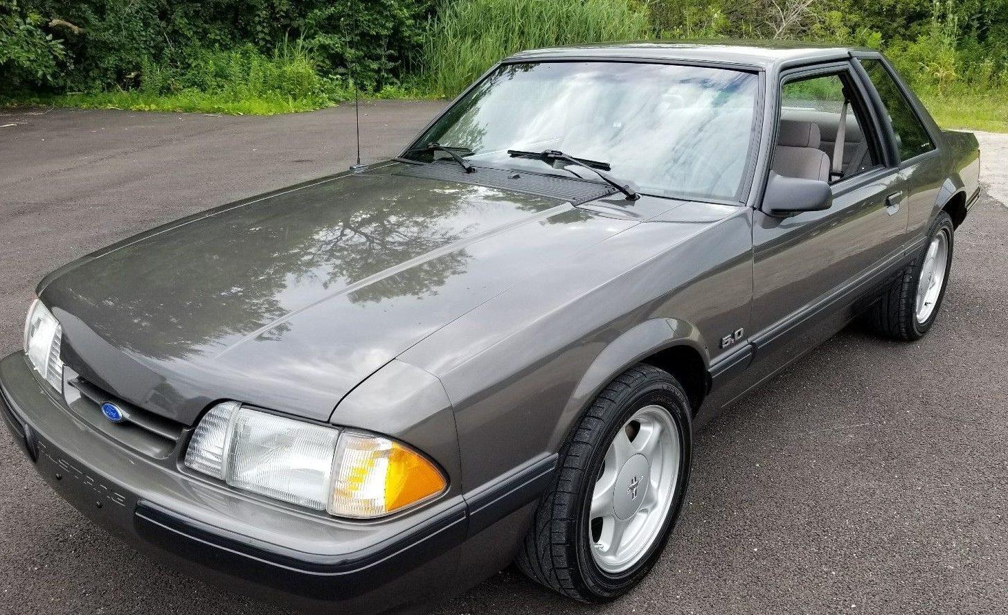 Fox Body Mustang >> Pony Car Unicorn: 1990 Mustang Notchback 5.0