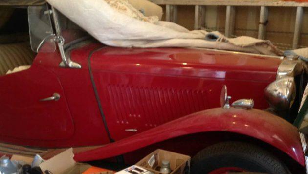 Reader Find: 1951 MG TD