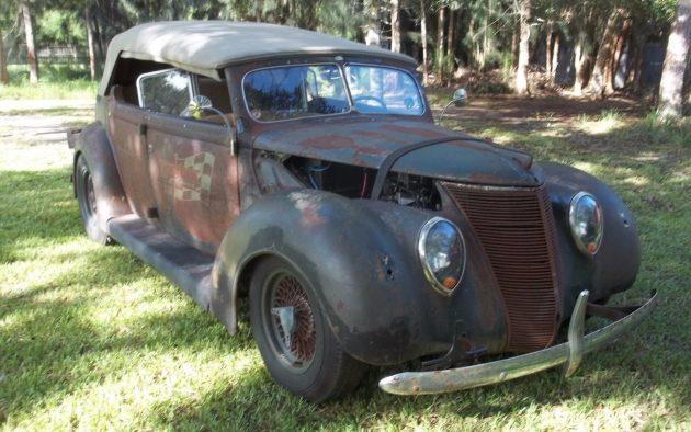 Up For Sale Again: 1937 Ford Custom Phaeton