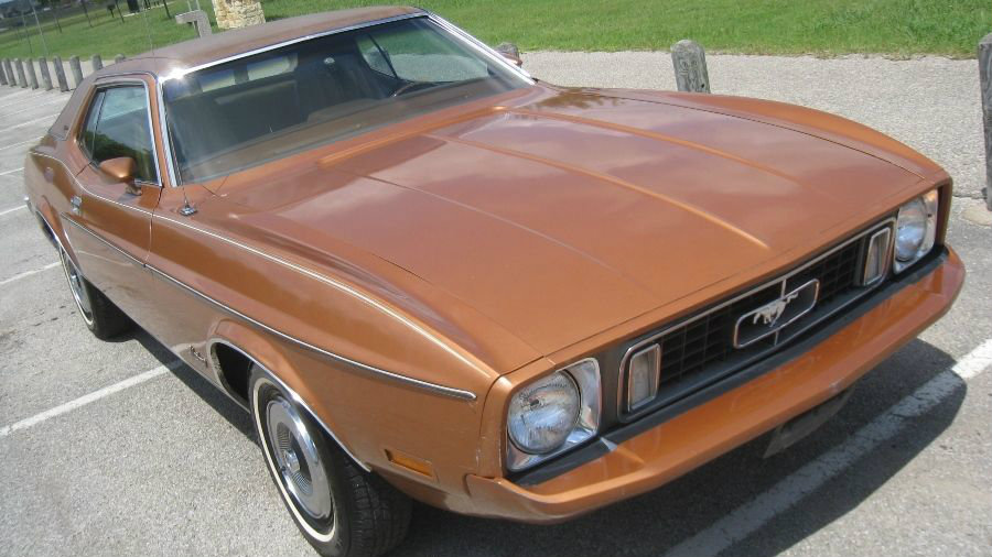 Bronze Pony 1973 Ford Mustang Grande