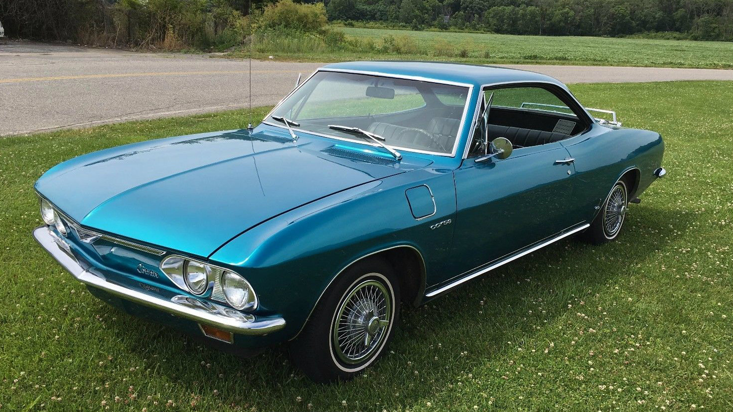 Blue Beauty 1966 Chevrolet Corvair Corsa