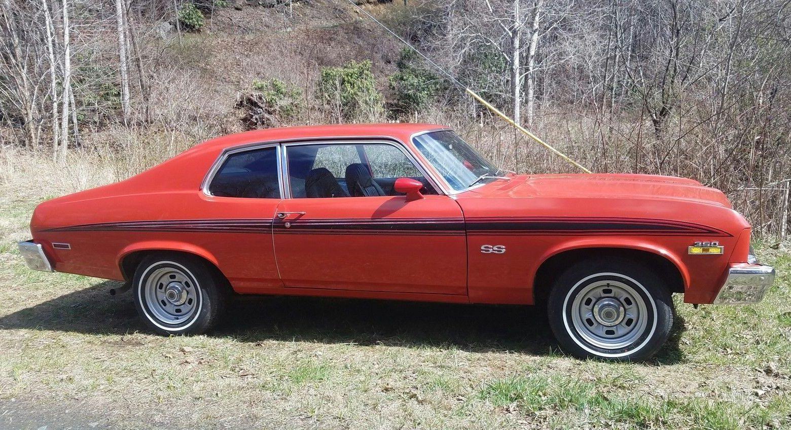 2017 Ss Chevrolet >> What's The Restovivor Story? 1973 Chevy Nova SS