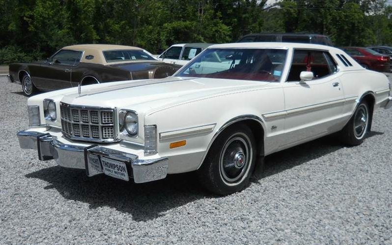 High Options, Low Miles: One-Family 1975 Ford Torino Elite