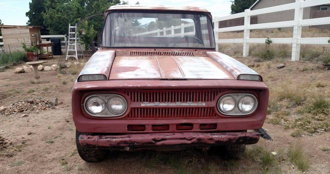 Pre Hilux 1967 Toyota Stout