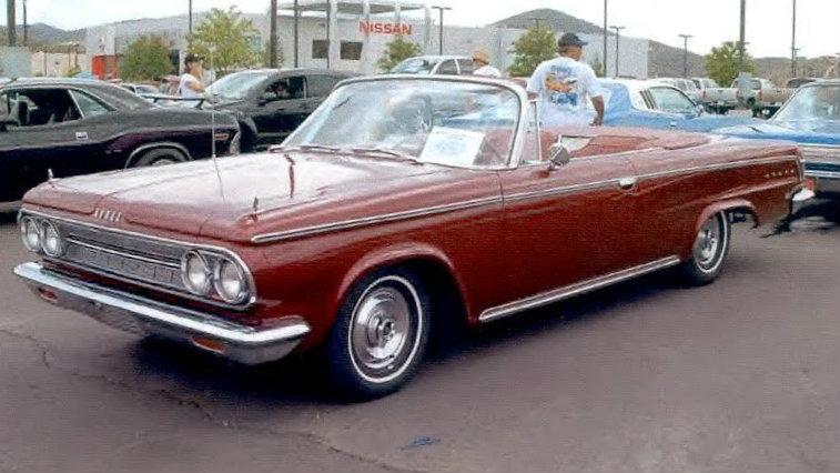 Original Owner 1964 Dodge Custom 880 Convertible