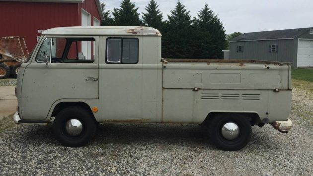 Army Brat: 1968 VW Double Cab Bus