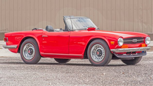 Stored For 20 Years: 1970 Triumph TR6
