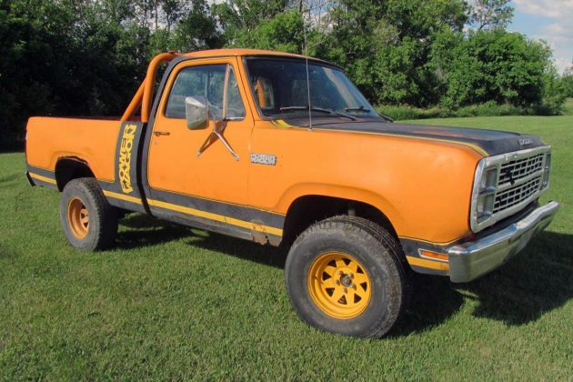 Mucho Macho: 1979 Dodge Power Wagon