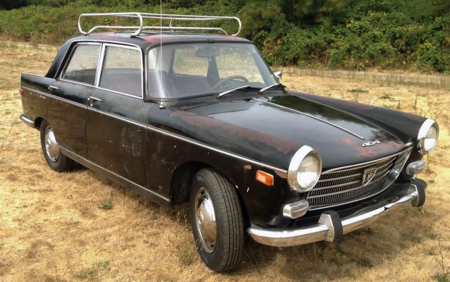 French Press Patina: 1969 Peugeot 404