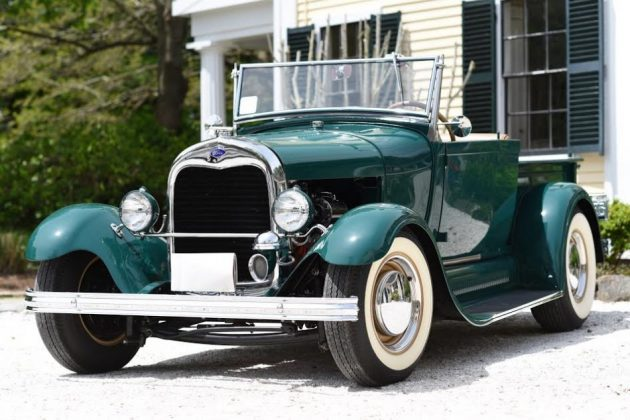 Bf Auction 1928 Ford Roadster Pickup