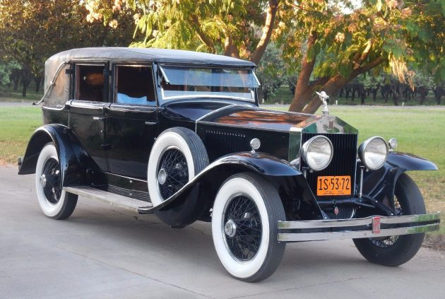 Hollywood Royalty: 1930 Rolls-Royce Phantom
