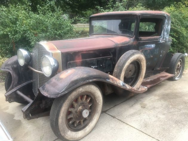 Butchered But Running! 1932 Packard 902 Coupe