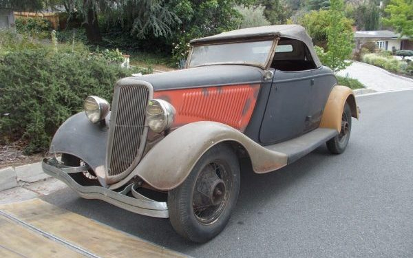 California Dreaming: 1934 Ford Roadster