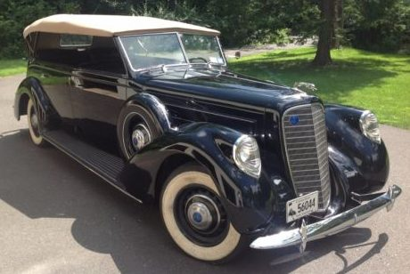 1 Of 7: 1937 Lincoln Willoughby Touring Car