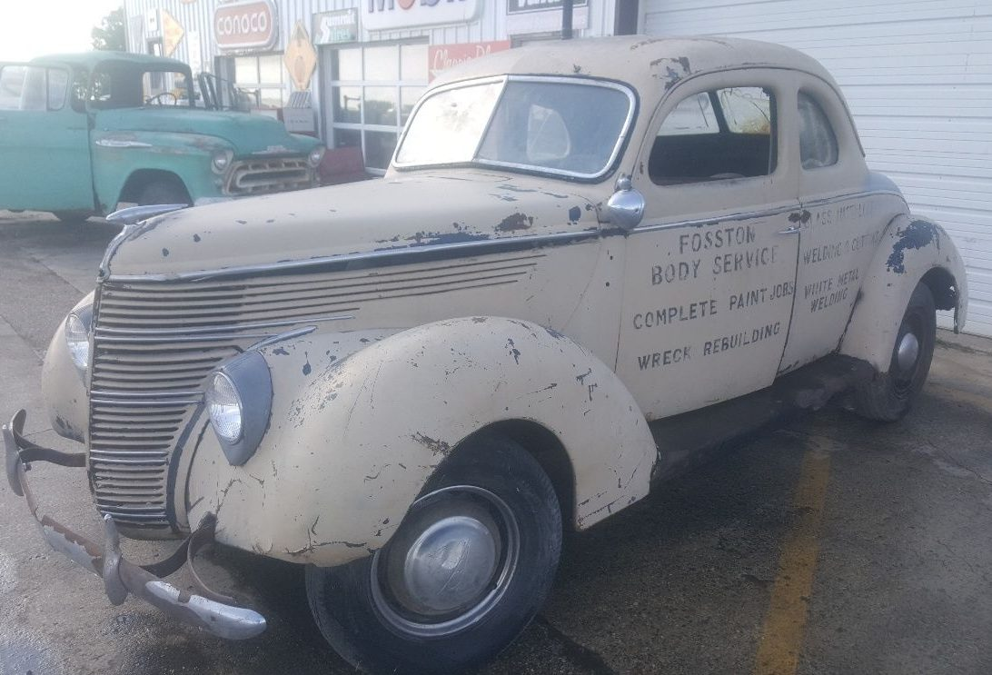 Untouched For Decades 1938 Ford Coupe