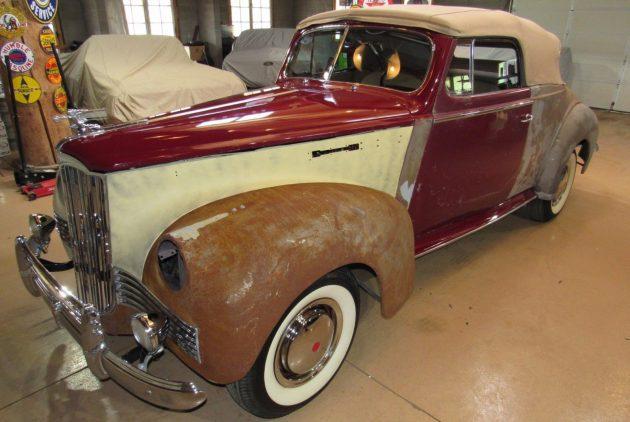 Ronald Reagan's 1942 Packard Clipper 6 Convertible