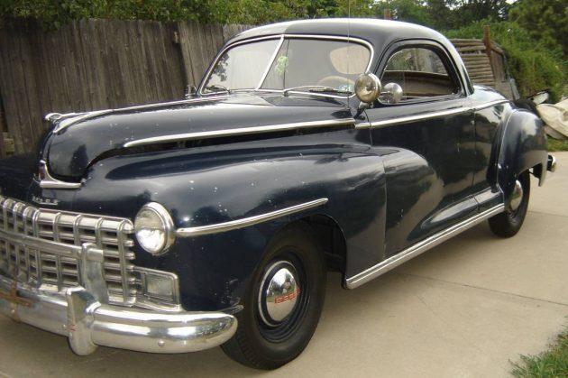All Original: 1947 Dodge Business Coupe