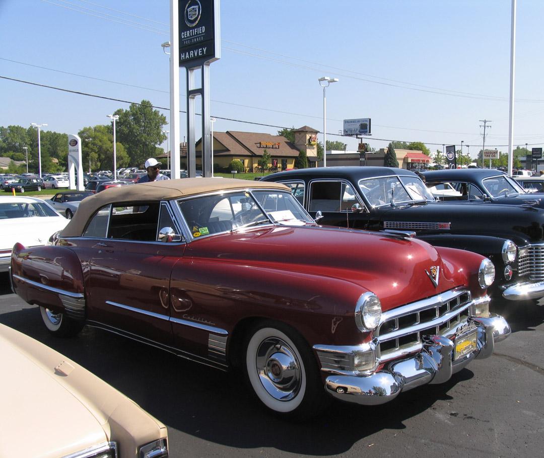 Eye Candy: 1949 Cadillac Series 62 Convertible