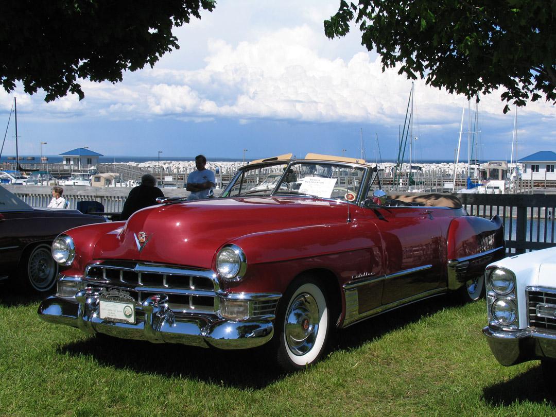 Eye Candy 1949 Cadillac Series 62 Convertible V8 Engine And