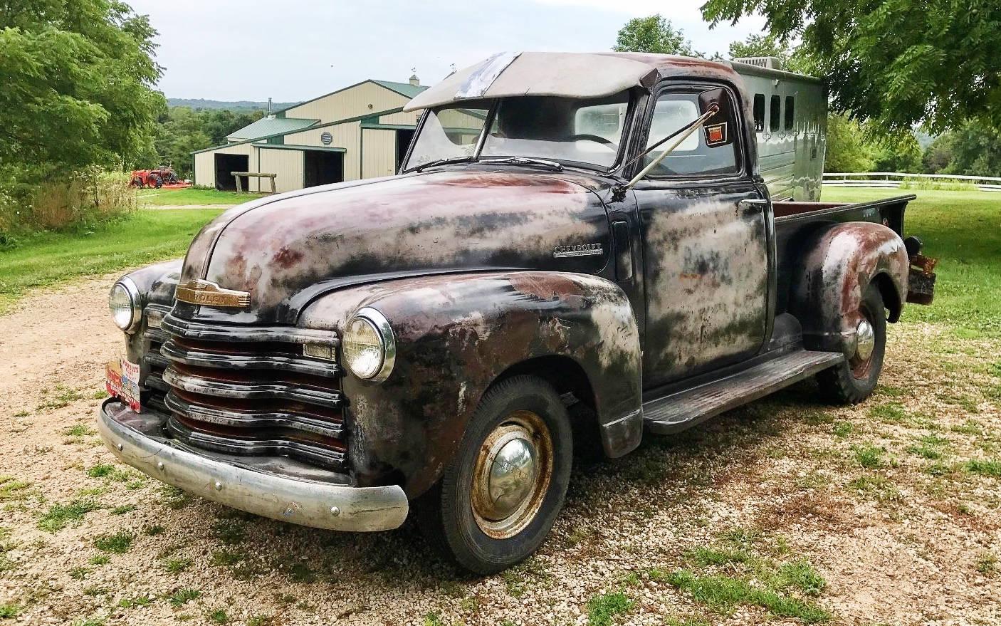 Pickup 1949 chevrolet pickup : Clear Coat Bandit Strikes Again: 1949 Chevrolet Pickup
