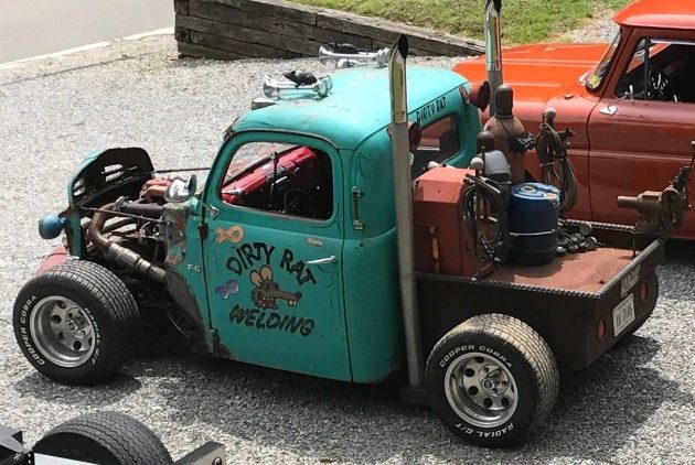 Ford 3 Cyl Diesel : Cylinder air cooled diesel ford hot rod truck