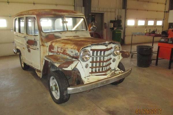 Barn Find 1951 Willys 4x4 Wagon