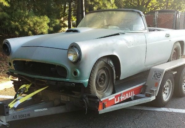 Baby I M On Fire 1955 Ford Thunderbird