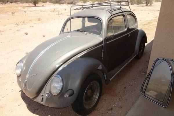California Barn Find: 1957 Volkswagen Beetle
