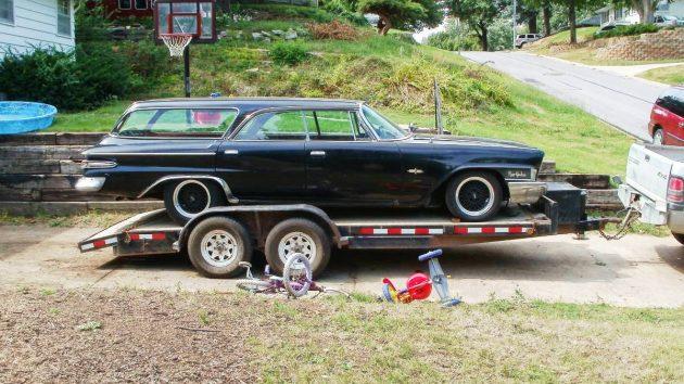 Black Battle Wagon: 1962 Chrysler New Yorker Wagon