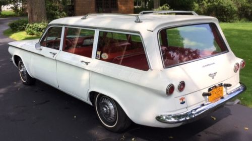 Teutonic Sports Wagon: 1962 Chevrolet Corvair Monza Lakewood