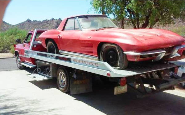 Stored 30 Years! 1964 Corvette