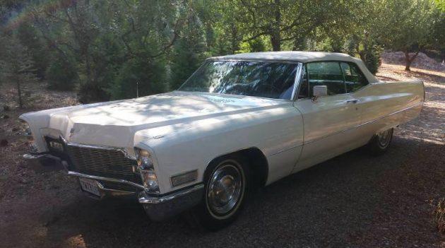 Drop Top Delight: 1968 Cadillac De Ville Convertible