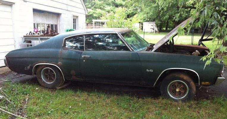 Cars For Sale In Virginia >> Flintstone Muscle: 1970 Chevelle SS 396