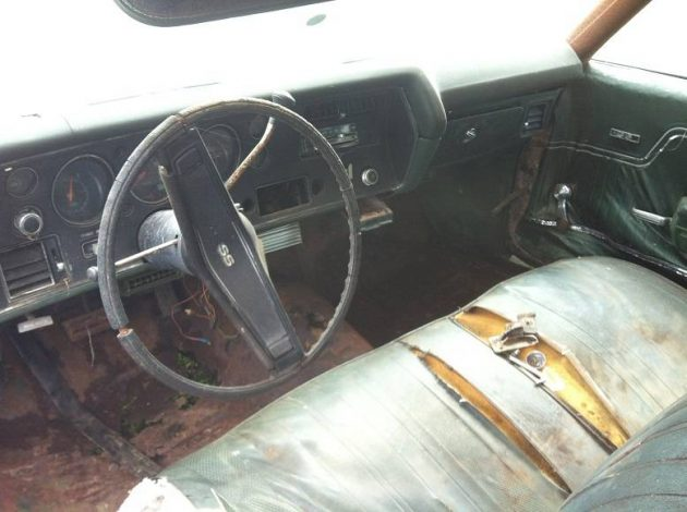 Flintstone Muscle: 1970 Chevelle SS 396