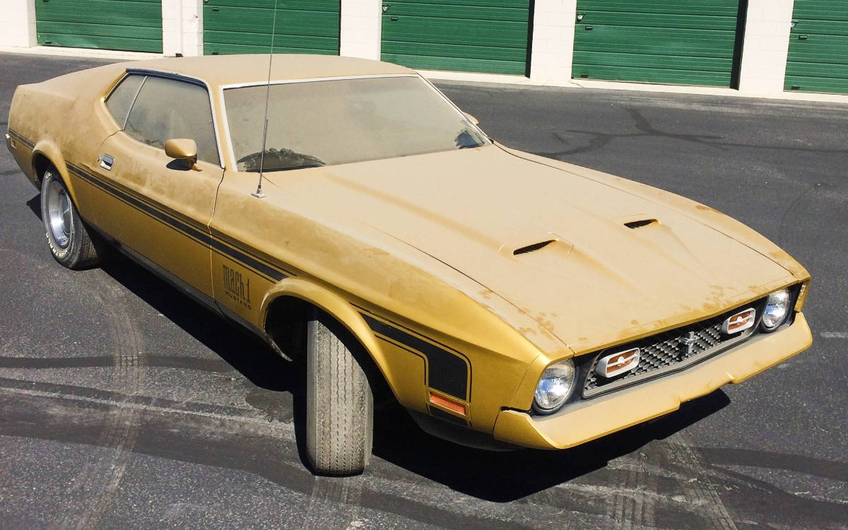 Bf Auction 1972 Mustang Mach 1